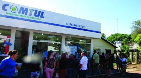 Reinauguração de Supermercado e Loja Agropecuária em Ubiretama