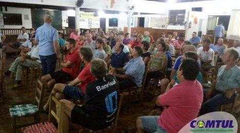 Comtul realiza reuniões - safra de soja 2017