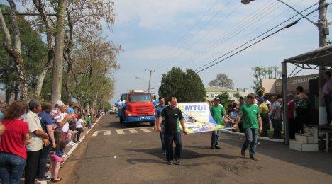 Desfile da semana da Pátria em Tucunduva