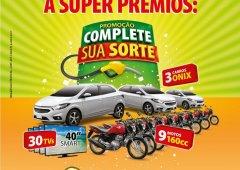 Charrua lança promoção - Complete sua Sorte